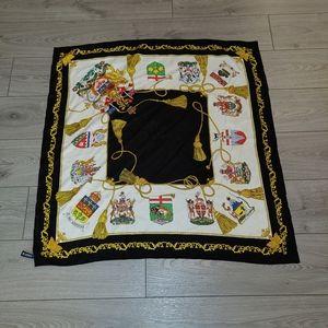 Holt renfrew silk scarf